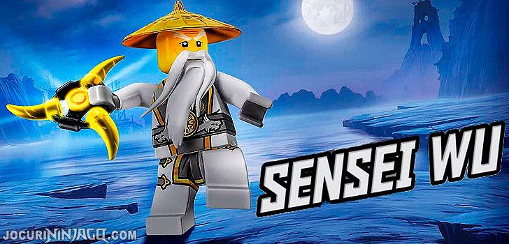Ninjago Sensei Wu